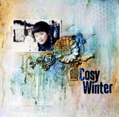 Cosy Winter - Scrapbook.com