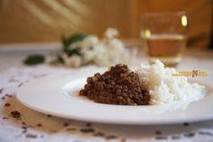 Basmati Lenticchie e Curry.. slurp!