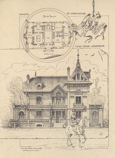 Parc des Bories près de  Brive, Jules Tixier, 1889 - Bfm Limoges http://www.bn-limousin.fr/items/show/323