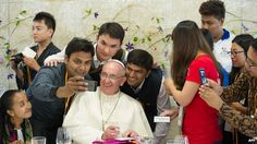 Pope Selfie: There is something in the manner of Pope Francis that seems to win people over, Catholics and non-Catholics, wherever he goes. And he has done it again here in South Korea. One of the highlights of Pope Francis' trip to South Korea was the beatification of 124 Koreans killed for their faith over two centuries ago.