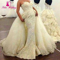 Vestido De Noiva Princess Vintage Sexy Mermaid Wedding Dress Bride Dress 2016 Open Back Lace Wedding