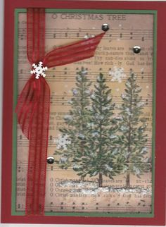 FS415 Lovely as a Tree by Kathy LeDonne - Cards and Paper Crafts at Splitcoaststampers