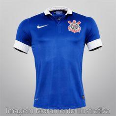 Sport Club Corinthians Paulista - Camisa Nike Corinthians III 2013