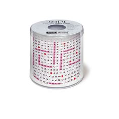 R$ 24,50 Papel higiênico decorado Puzzle 23 m - Utensílios Domésticos / Utilplast - Utilplast