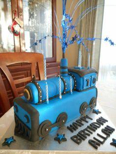 Train cake.