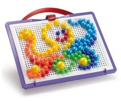 #Quercetti #toys Chiodini   Fantacolor Portable