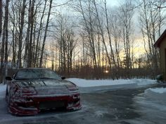 winterish S13 (180sx, 200sx, 240sx). Drifting Cars, Jdm, Passion, Snow, Outdoor, Outdoors, Outdoor Games, Japanese Domestic Market, The Great Outdoors