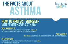 Wearing a #medicalid lets others know what to do in the event you are unable to speak for yourself during an #asthmaattack. #asthma #infographic #allergy #allergies