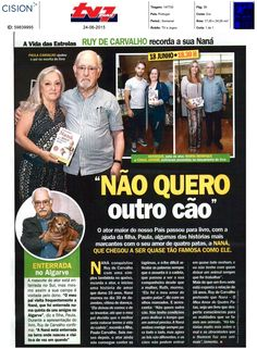 A TV Sete Dias no lançamento em Lisboa.