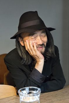 """killyohji: """"Do you think the fashion world has changed a lot since you started? Yes, fast fashion ruined everything. They buy and buy, sometimes without even wearing it, and. Yohji Yamamoto, Japanese Men, Japanese Design, Coming Out, Japanese Fashion Designers, Iris Van Herpen, Origami Fashion, Jumpsuit Pattern, Fast Fashion"""