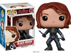 FINALLY The Avengers Age Of Ultron Black Widow Funko Pop! Is Here And She Is Rad