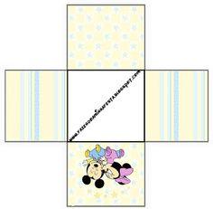 Baby Disney Unisex - Kit Completo com molduras para convites, rótulos para guloseimas, lembrancinhas e imagens! - Fazendo a Nossa Festa