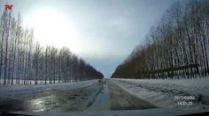 Участок автодороги: От д. Хирпоси до автовокзала п. Вурнары! Март 2017.
