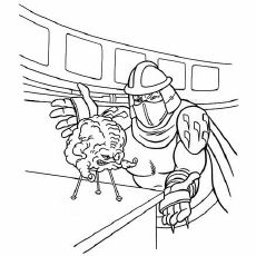kraang coloring pages - photo#4