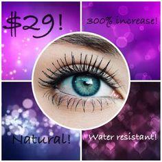 I LOVE my Youniqe 3D Fiber Lash Mascara!  I apply it just like regular mascara and have wonderful, long natural looking lashes.  You can order at www.KatyFreshLooks.com