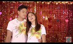 "Here is the scene of Kathryn Bernardo and Daniel Padilla singing together during the recording of the 2015 ABS-CBN Christmas Station ID, ""Thank You for the Love!"" They're just only having fun, indeed! :-) LOL! #KathNiel #KathNielBernaDilla #ABSCBNChristmasStationID #ThankYoufortheLove"
