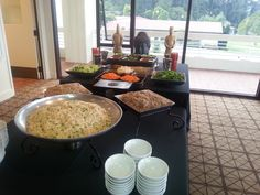 Rice and noodle station. First wedding at the newly remodeled Presidio Officer's Club!!