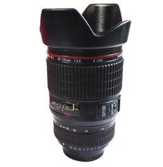 (Loja Mundo Geek) Caneca Personalizada Lente de Câmera Fotográfica - R$109,90