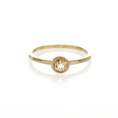 Dear Rae // 9ct yellow gold Citrine ring