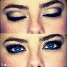 """""""effie stonem eyes."""" Still one of my favorite looks"""