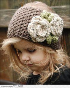 Brei ideeën - KInder haarband,leuk met bloemen!