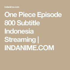 One Piece Episode 800 Subtitle Indonesia Streaming | INDANIME.COM