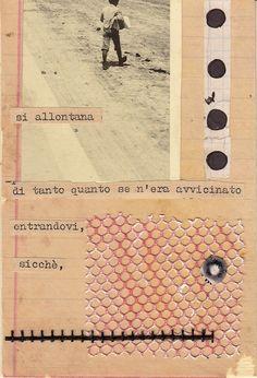 """Cinzia Farina - """"si allontana di tanto quanto se n'era avvicinato"""""""