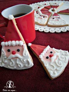 Dolci da sogno...: Biscotti di Babbo Natale