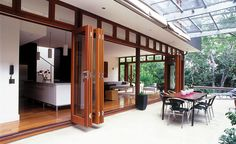 Wooden French Bi-Fold Doors - Unique Woodworking (Trinidad) Ltd. in Trinidad - The Building Source