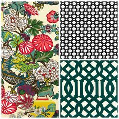 How to mix fabric patterns..from CraneConcept.com #design #pattern #fabric