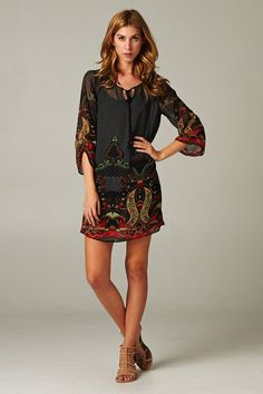 Celeste Tunic - this would be fun with leggins.  I have used some of these same color schemes to decorate my home.