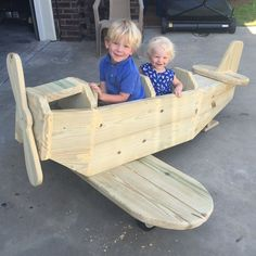 Teds Woodworking® - Woodworking Plans & Projects With Videos - Custom Carpentry — TedsWoodworking diy airplane play structure, diy, how to, outdoor living, woodworking projects Kids Woodworking Projects, Learn Woodworking, Popular Woodworking, Woodworking Furniture, Diy Wood Projects, Teds Woodworking, Woodworking Jigsaw, Intarsia Woodworking, Woodworking Workshop