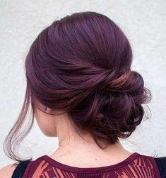 16.Einfache Hochsteckfrisur für Lange Haare