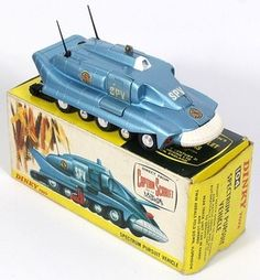 Dinky Toys 104 Captain Scarlet Gerry Anderson Spectrum Pursuit Vehicle