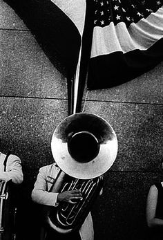 Political Rally - Chicago by Robert Frank.