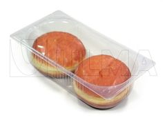 Frozen bakery packaging in thermoforming in rigid film — ULMA Packaging Bakery Packaging, Packaging Solutions, Confectionery, Biscuits, Frozen, Container, Snacks, Film, Cake