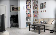 apartment in haifa, living room, working space, sofa, televisin