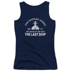 Juniors Last Ship/Open Water Tank Top