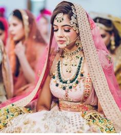 Pakistani bridal makeup red nose rings 41 New ideas Pakistani Bridal Makeup Red, Bridal Lehenga, Indian Bridal, Bridal Looks, Bridal Style, Indian Bridesmaids, Bridal Photography, Photography Poses, Bridal Outfits