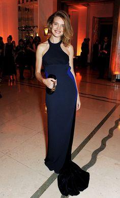 Natalia Vodianova wearing Stella McCartney