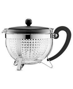 Bodum Chambord Teapot, 1.5L with Infuser Reg. $45.00 Sale $29.99