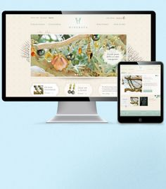http://www.isadoradesign.com  Hinerava Island-chic jewelry - a great example of responsive web design across all devices!