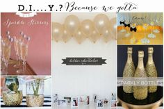 Linen, Lace, & Love: New Year's Eve Party Ideas #newyears #DIY #crafts