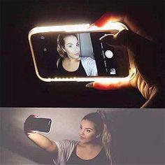 [In stock] Best selfie Phone case For 6 6s plus 5 5s iPhone 7 7 PLUS case LED Selfie Case Light Flash Luminous Self Back Cover *** Posetite ssylku izobrazheniya boleye podrobnuyu informatsiyu.
