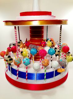 Circus is in town! Cake pops By blakers dozen