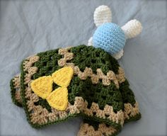 Every hero needs a fairy Legend+of+Zelda+Fairy+Lovey+Blanket+security+blanket+by+RindCounty Crochet Lovey, Cute Crochet, Crochet Toys, Knit Crochet, Crochet Geek, Geek Crafts, Yarn Crafts, Zelda Baby, Pokemon