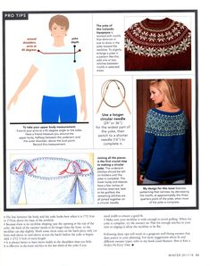 """Photo from album """"Vogue Knitting Winter on Yandex. Easy Knitting Patterns, Knitting Charts, Knitting Stitches, Free Knitting, Pullover Design, Sweater Design, Vogue Knitting, Knitting Books, Diy Crafts Crochet"""