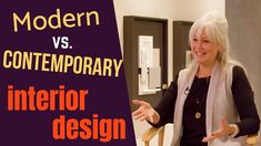 In this video, we talk about modern versus contemporary design styles. We also talked about transitional versus traditional. Welcome to Homebuyer's School, br… Contemporary Interior Design, Modern Contemporary, Types Of Furniture, Modern Furniture, Queen Anne Furniture, Brookfield Residential, Traditional Furniture, Traditional Looks, Next At Home