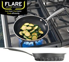 Win a FLARE Cookware 8-Inch Saute Pan $70 value. Save Time & Energy by Cooking 40% Faster #LaPrimaRoyale
