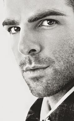 zachary quinto (totally inspired choice for the young Spock!)